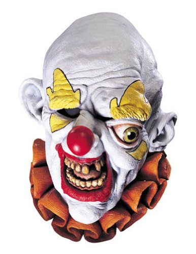 Scary-Masks Freako The Clown Mask Halloween Costume - Most Adults