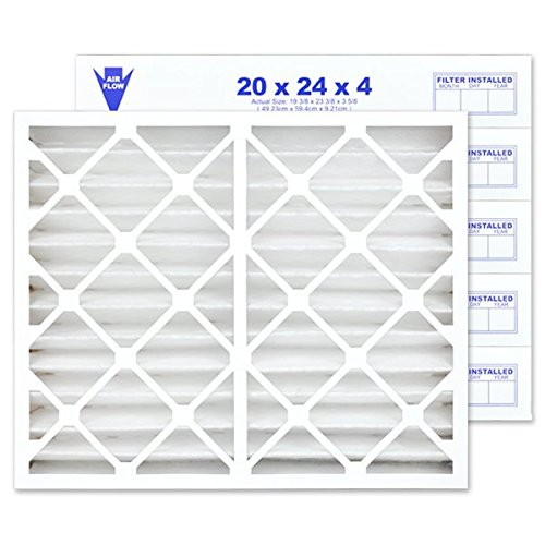 "20"" X 24"" X 4"" MERV 13 Pleated Furnace Filter, 6-Pack"
