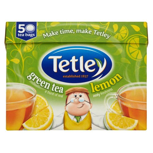 Tetley Green Tea Lemon 50 Btl.