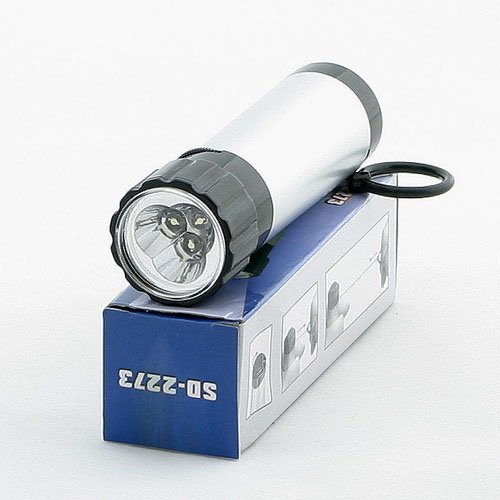 Ledwholesalers Mini Generator 3 Led Light Emergency Self Power Flashlight, 3017