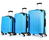 Zwillingsrollen 3 tlg.2045 neu Reisekofferset Koffer Kofferset Trolleys Hartschale in