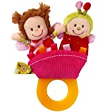 Lilliputiens Liz Teething Rattle