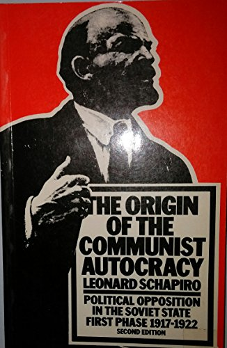 Schapiro: Origin Communist Autocracy PDF