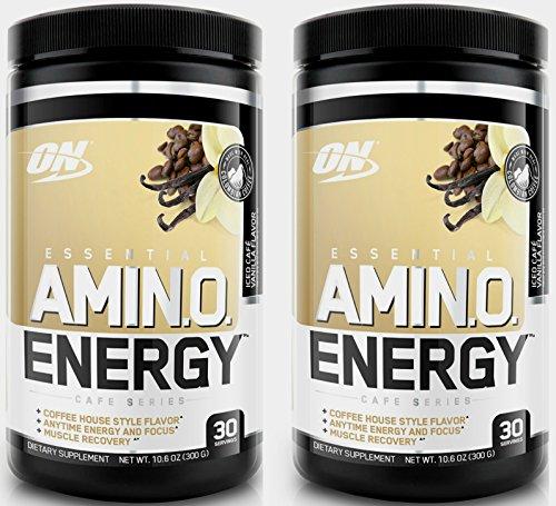 Optimum-Nutrition-Amino-Energy-Powder-30Sx2-Units-Iced-Cafe-Vanila