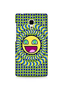Amez designer printed 3d premium high quality back case cover for Xiaomi Redmi 1S (illustration)