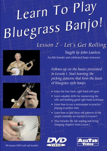 Learn to Play Bluegrass Banjo Lesson 2 Let's Get [DVD] [Import]