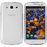mumbi TPU Silikon Schutzhülle Samsung Galaxy S3 / S3 Neo Hülle transparent weiss