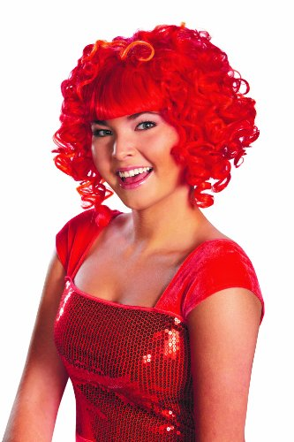 Disguise Sesame Street Elmo Glam Adult Costume Wig