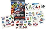 Marvel AVENGERS Temporary Tattoos - 50 Tattoos - Iron Man, Thor, Hulk, Captain America and more!