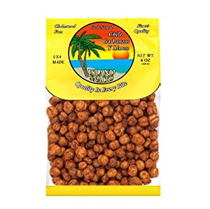 Island Snacks Chile Garbanzos 6-ounce Pack Of 6 by Island Snacks