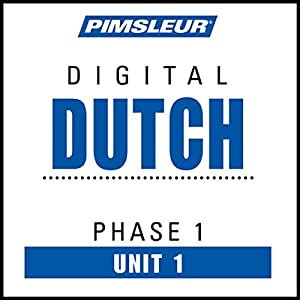 Dutch Phase 1, Unit 01 Audiobook