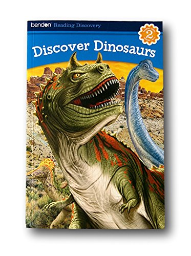 Bendon Reading Discovery Book - Discover Dinosaurs - Grades 2-4 - 1