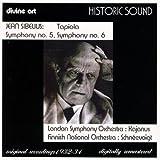 Sibelius - Symphonies Nos 5 & 6; Tapiola London Symphony Orchestra