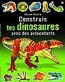 Construis tes dinosaures avec des autocollants par Tudhope