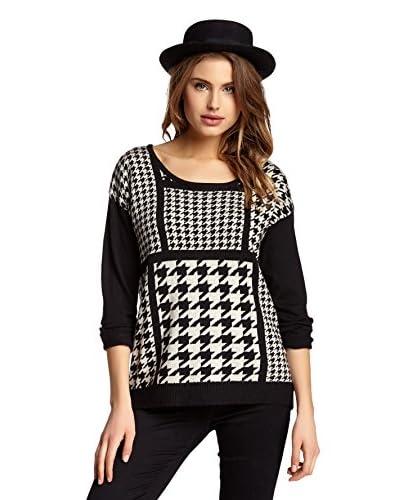 Olivia M Women's Stripe Pullover
