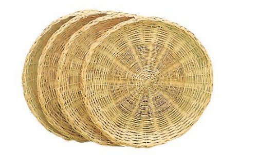 Bamboo paper plates