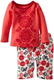 Tea Collection Baby-Girls Newborn Paper Cut Floral Outfit