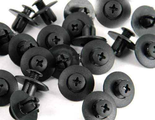 8mm-40-pcs-pack-nylon-bumper-fender-flare-mud-flaps-guard-fastener-rivet-clips-91512-sm4-003-for-hon