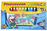 Bic Kids Plastidecor Wax Crayons 10 Pack