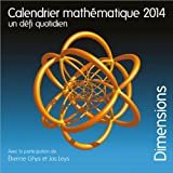 Calendrier math�matique 2014. Un d�fi quotidien
