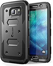 Galaxy S6 Case, [Armorbox] i-Blason built in [Screen Protector] [Full body] [Heavy Duty Protection ] Shock Reduction[Bumper Corner] for Samsung Galaxy S6 (Black)