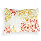 A1 Home Collections Coral Lacework Pillow, Janice, 14