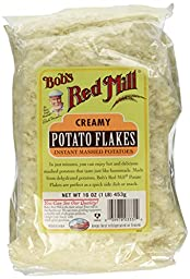 One 16 oz Bob\'s Red Mill Potato Flakes