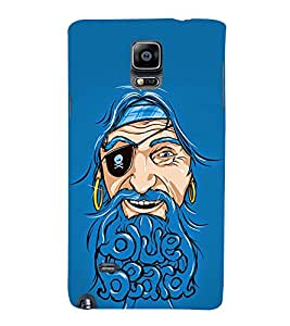 Beard Baba Fun 3D Hard Polycarbonate Designer Back Case Cover for Samsung Galaxy Note 4 N910 :: Samsung Galaxy Note 4 Duos N9100