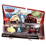 Disney Pixar Cars 2 Luigi, Guido And Uncle Topolino Vehiclesby Mattel