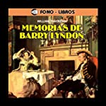 Memorias de Barry Lyndon [The Memoirs of Barry Lyndon] | William Thackeray