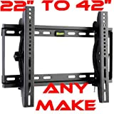 Tilt TV Wall Bracket For 22 24 26 28 32 37 40 42 Inch TV