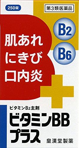【第3類医薬品】ビタミンBBプラス「クニヒロ」 250錠