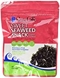 Seas Gift Korean Seaweed Snack (Kim Nori), Sweet, 0.69-Ounce Bags (Pack of 24)