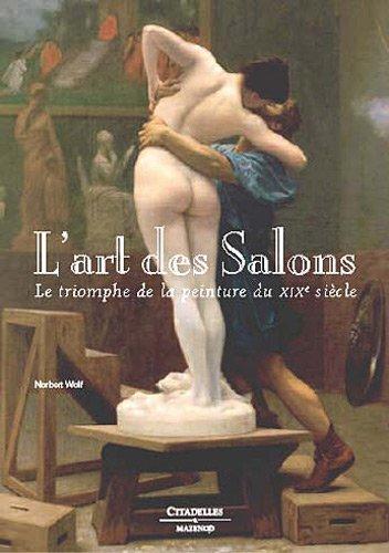 L'art des salons des peintures du XIX siècle