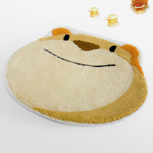 Naomi - [Happy Animal] Kids Room Rugs (19.7 by 23.6 inches)