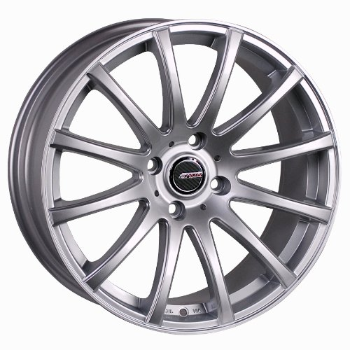 Styluz M575 Painted with Hyper Silver Finish Wheel (19x8.5/ 5x112mm)