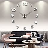 Yesurprise Modern 3D Frameless Large Wall Clock Style Watches...