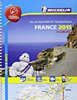 Atlas France 2015 Plastifié Michelin