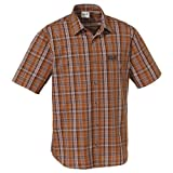 Jack Wolfskin Men's Hot Chili Shirt - Clay Checks, Large
