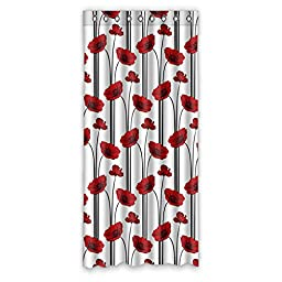 Puppy Paintings House Custom Decors Polyester Blackout Window Curtains 50\