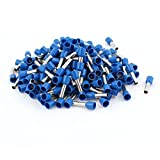 200 Pcs 6mm2 Crimp Cord End Insulated Bootlace Ferrule Terminal Blue