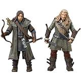 "The Bridge Direct Hobbit 3.75"" Adventure: Kili and Fili - Wave 1, Pack of 2"