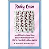 img - for Ruby Lace Technique Machine Knitting ePattern All Machines book / textbook / text book