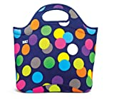 BUILT Neoprene Market Tote, Large, Scatter Dot