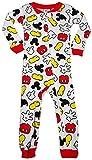 Disney - Little Boys Long Sleeve Mickey Mouse Romper
