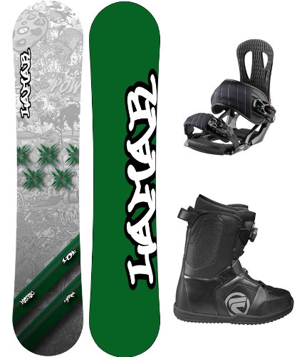 Lamar Metric Complete Snowboard Package with Head NX One Bindings and Flow Vega BOA Men's Boots Board Size 163 Wide