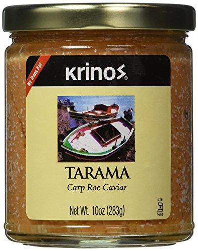Carp Roe Caviar - Tarama (krinos), 10oz (Canned Fish Roe compare prices)