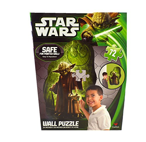 Star Wars Wall Puzzle-Yoda