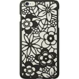 Dream Wireless Carrying Case for Apple iPhone 6S Plus / 6 Plus - Retail Packaging - Flower Black