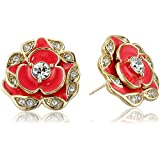 "kate spade new york ""Beach House Bouquet"" Geranium Stud Earrings"